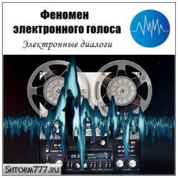 Феномен электронного голоса. Электронный диалог