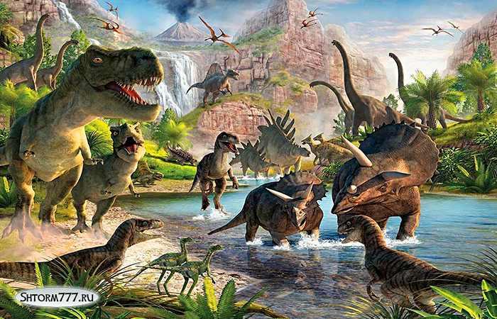 Факты о динозаврах-1