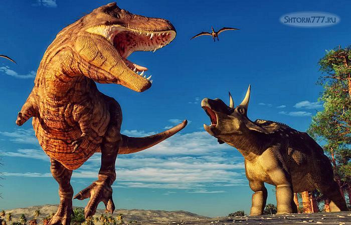 Причины вымирания динозавров