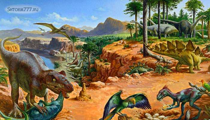 Почему вымерли динозавры-3