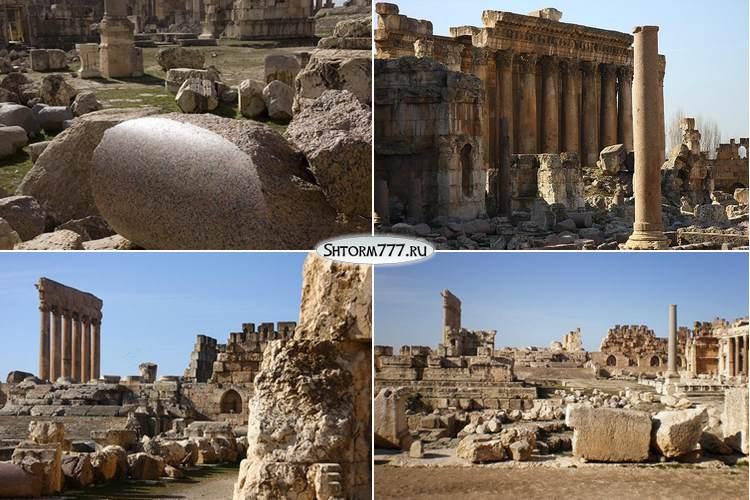 Баальбек. Древний город в Ливане