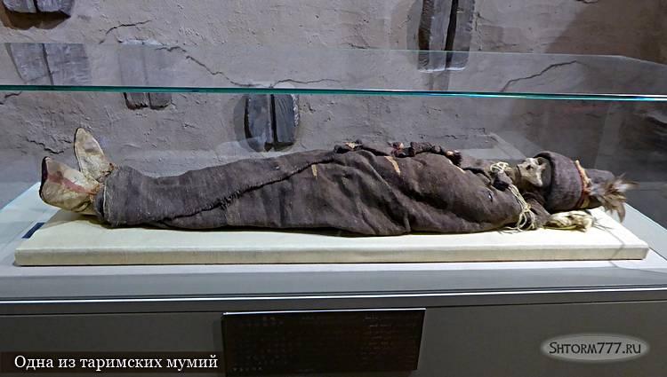 Одна из таримских мумий