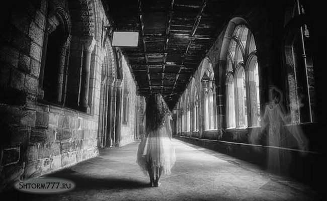 Призраки в старинных замках