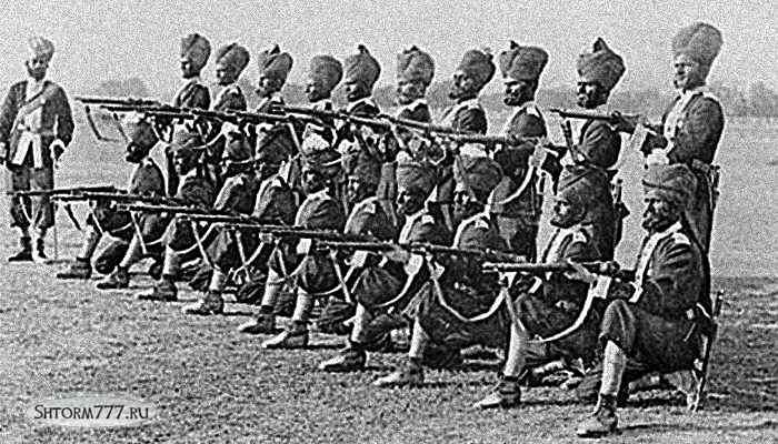 Восстание сипаев в Индии-1