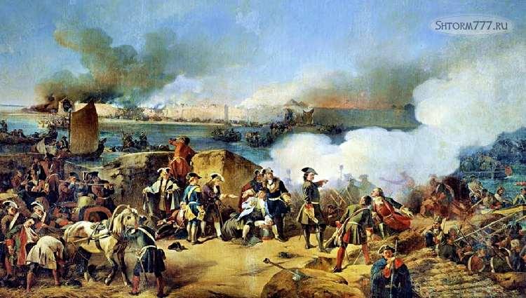 Каспийский поход Петра