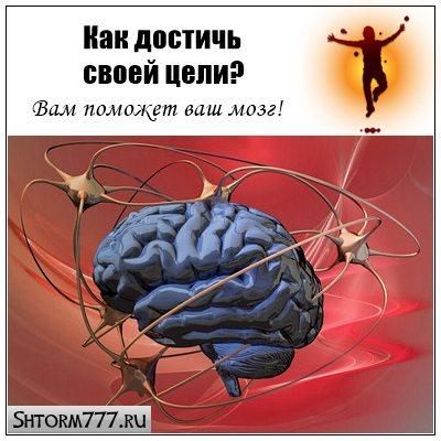 Как достичь своей цели? Вам поможет ваш мозг
