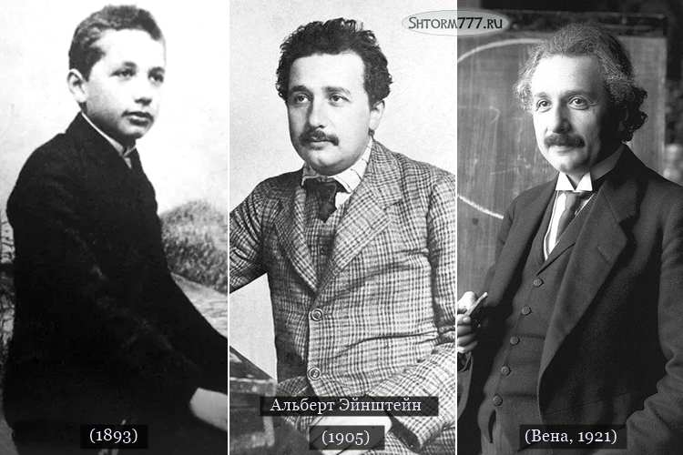 Альберт Эйнштейн. Биография