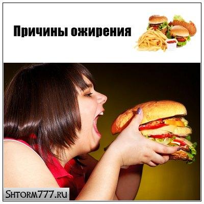 Ожирение. Причины ожирения