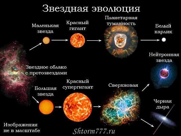 Эволюция звезд