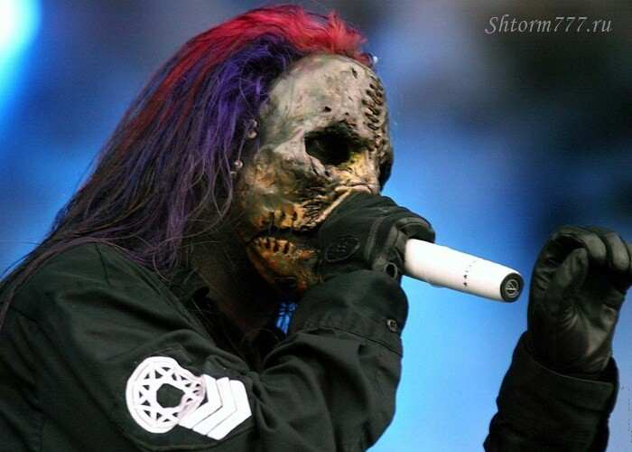 Концерт группы Slipknot