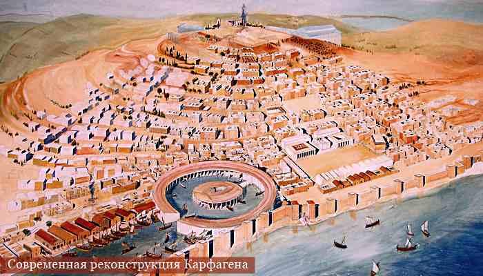 Современная реконструкция Карфагена